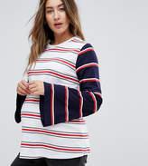 Asos Splice Stripe With Long Sleeve