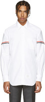 Thom Browne White Armbands Shirt
