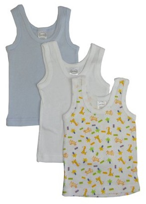 Bambini Printed Tank Tops, 3pk (Baby Boys or Baby Girls, Unisex)
