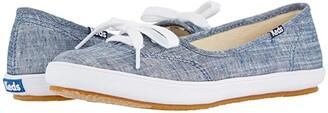 Keds Teacup Chambray (Light Blue) Women's Shoes