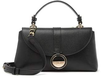 Versace Saffiano Leather Small Satchel