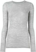 Isabel Marant long sleeved knit top - women - Merino - 42