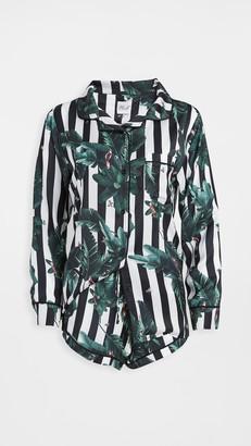 Plush Jungle Stripe PJ Set