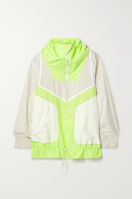 adidas by Stella McCartney Oversized Shell Jacket - Yellow