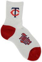 For Bare Feet Minnesota Twins Ankle White 501 Medium Socks