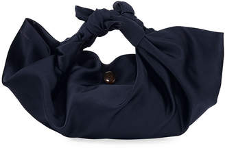 The Row Small Ascot Bag in Satin
