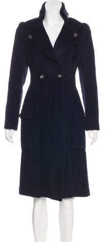 Diane von Furstenberg Wool & Alpaca-Blend Coat