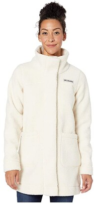 Columbia Panoramatm Long Jacket (Chalk) Women's Coat