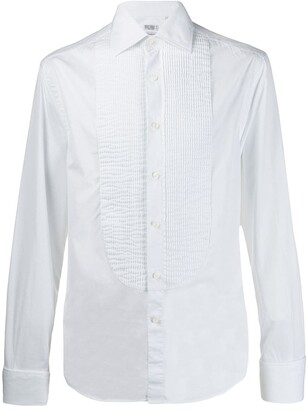 Brunello Cucinelli Pleated Front Shirt