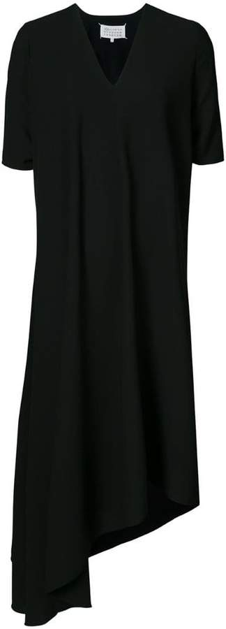 Maison Margiela asymmetric hem T-shirt dress