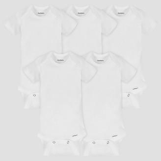 Gerber Baby Organic Cotton 5pk Organic Short Sleeve Onesies