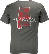 New World Graphics Men's Alabama Crimson Tide State Sportsman T-Shirt