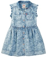 Levi's Levi&s Posey Acid Wash Dress (Little Girls)