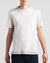 Lanvin Cotton Silk Detail T-Shirt