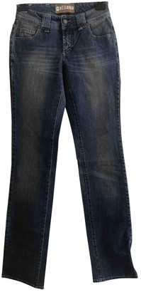 Galliano Blue Denim - Jeans Trousers for Women