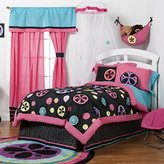 One Grace Place Magical Michayla Twin Crib Bedding Set, 6 Piece by