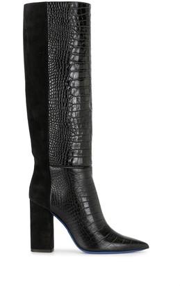 Emilio Pucci Block Heel Knee-High Boots
