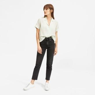 Everlane The Clean Silk Short-Sleeve Notch Shirt