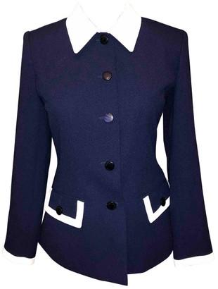 Guy Laroche Navy Jacket for Women Vintage