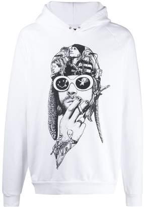 Dom Rebel DOMREBEL printed Teen Spirit hoodie