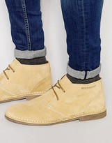 Ben Sherman Aiit Desert Boots In Leather