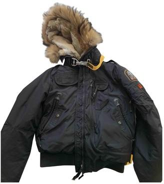 Parajumpers Black Raccoon Coat for Women