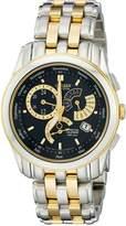 Citizen Men's BL8004-53E Calibre 8700 Eco-Drive Two-Tone Black Dial Watch