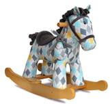 Little Bird Told Me Lewis & Fitz Rocking Horse & Stuffed Animal