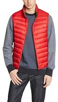 Benetton Men's Puffa Quilted Sleeveless Gilet