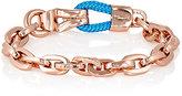Miansai WOMEN'S KAROO ROPE & OVAL-LINK CHAIN BRACELET-BLUE SIZE XS