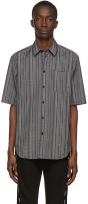 Versace Black Logo Print Shirt