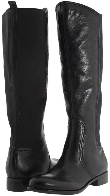 Franco Sarto Road (Black Calf) - Footwear