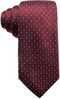 Ryan Seacrest Distinction Men's Victor Dot Grid Slim Silk Tie, Created for Macy's