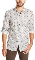 John Varvatos Collection Men's Slim Fit Button Down Sport Shirt