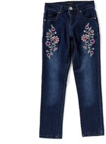 Takara Big Girls 7-16 Embroidered Denim Jeans