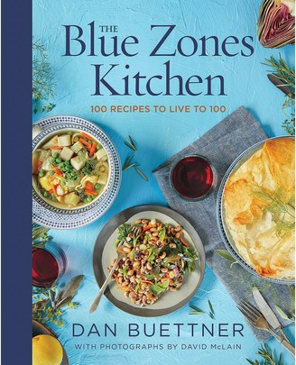 Disney The Blue Zones Kitchen: 100 Recipes to Live to 100 Book National Geographic