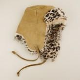 J.Crew Toscana shearling trapper hat