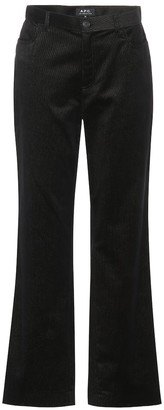 A.P.C. Coast mid-rise straight jeans