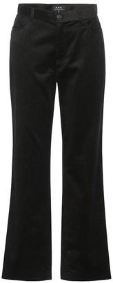 A.P.C. Coast mid-rise straight jeans