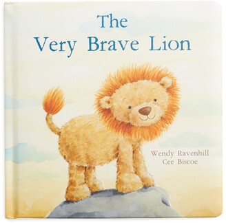 Jellycat 'The Very Brave Lion' Board Book