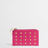 J.Crew Factory Factory studded keychain wallet
