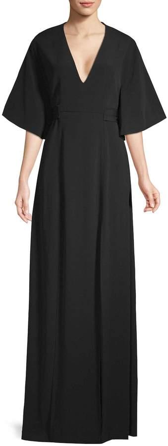 Alexis Women's Mirren Flutter-Sleeve Maxi Dress