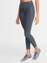 Old Navy High-Waisted Elevate Built-In Sculpt 7/8-Length Compression Leggings For Women