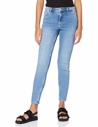 Pieces Women's Pckamelia Skn Mw ANK Lb143-vi/noos Bc Jeans