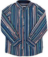 Paul Smith Vertical-Striped Poplin Shirt