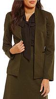 Alex Marie Abda Stretch Twill Suiting Jacket