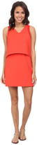 Lacoste L!ve Sleeveless Layered Tank Dress