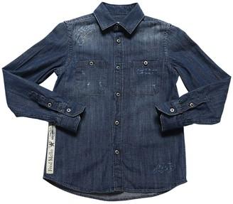Fred Mello Stretch Denim Shirt