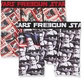 Star Wars Men's Freegun Boxer Shorts,L pack of 2