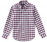 Brooks Brothers Little/Big Boys 4-20 Button-Down Long-Sleeve Checked Shirt